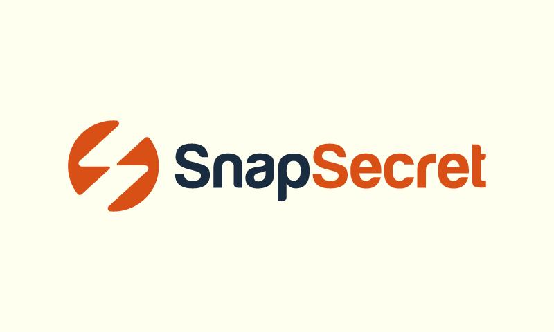 Snapsecret - Social startup name for sale