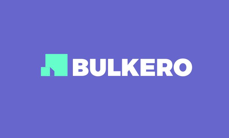 bulkero logo - Go big with bulkero