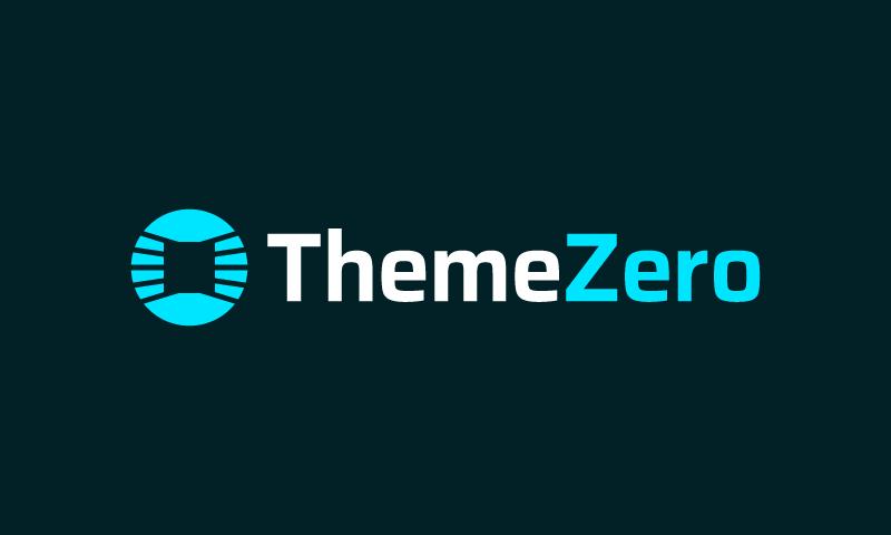 Themezero - Technology business name for sale