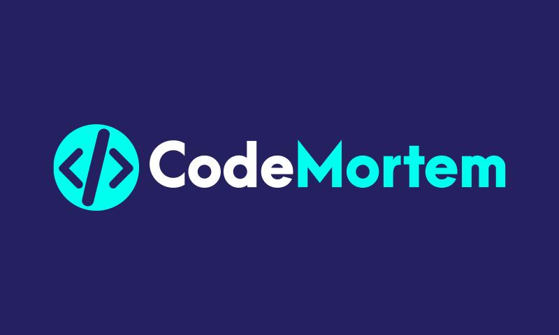 Codemortem - Internet brand name for sale