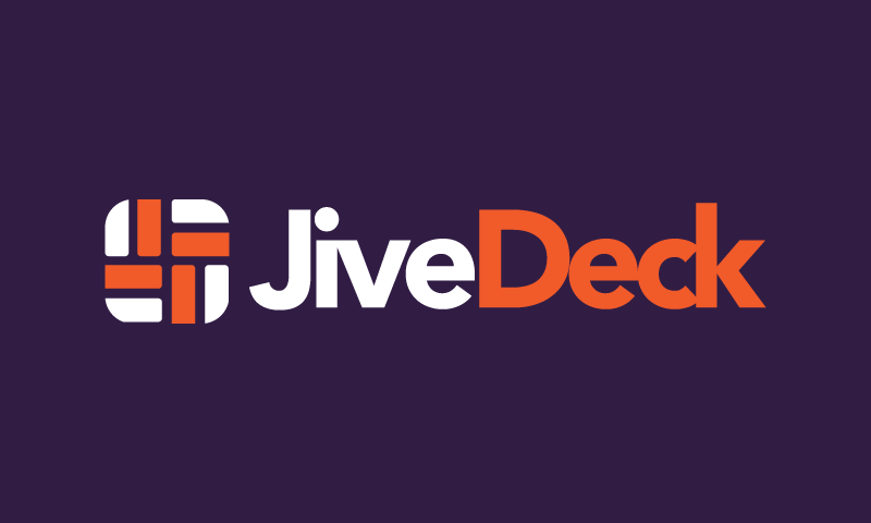 Jivedeck - Audio product name for sale