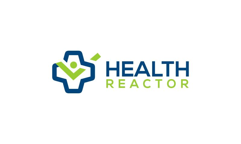 HealthReactor logo