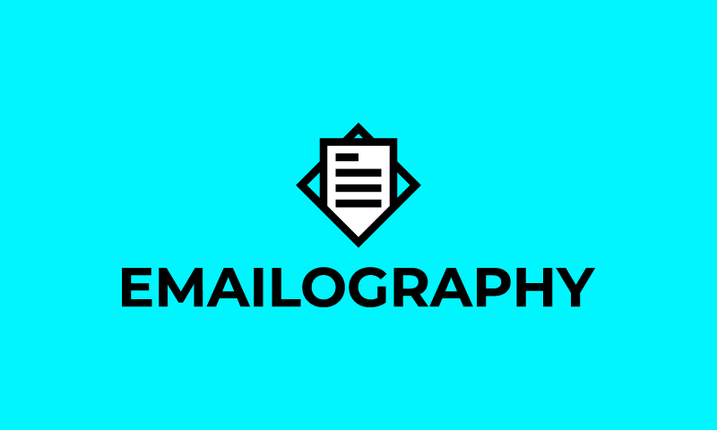 Emailography - Design business name for sale