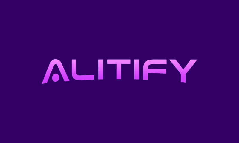 Alitify - Retail business name for sale