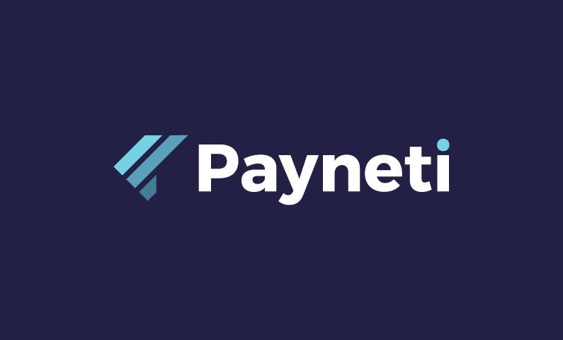 Payneti - Banking brand name for sale