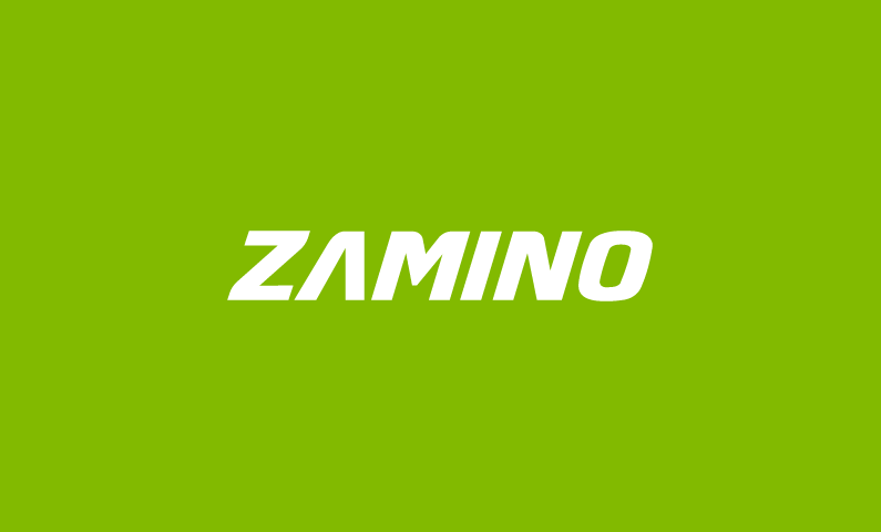 zamino logo - Clear and compelling brand name