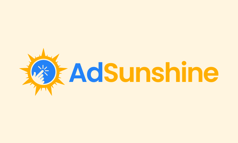 Adsunshine - Advertising brand name for sale