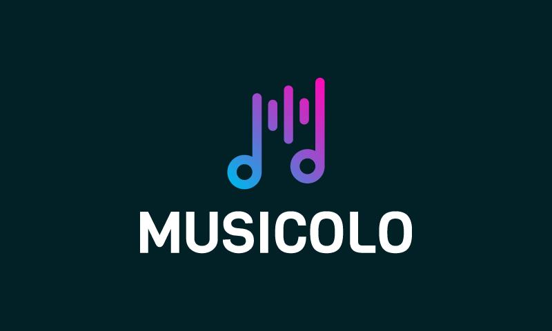 Musicolo - Music startup name for sale