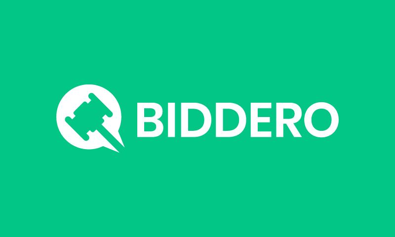 Biddero - Retail business name for sale