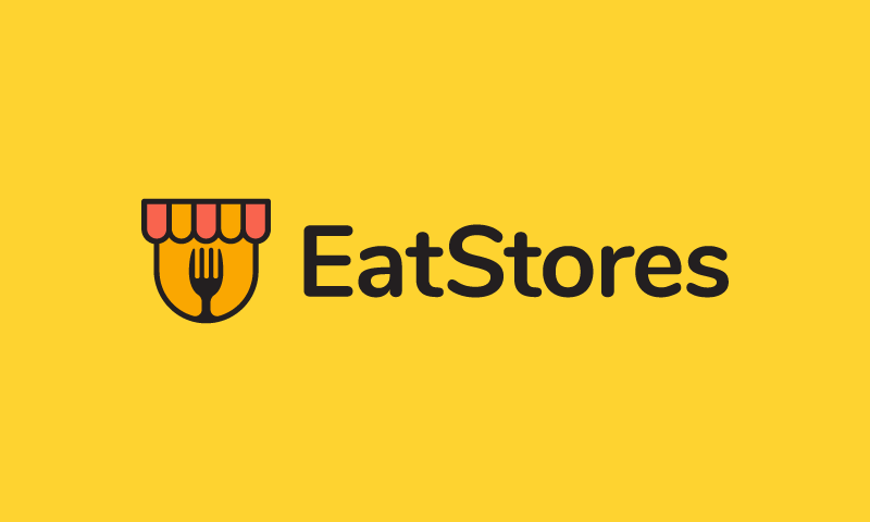 Eatstores - Food and drink company name for sale