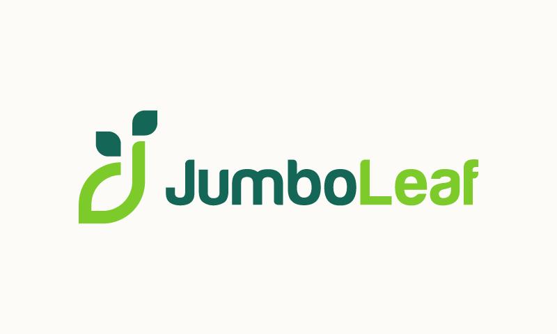 Jumboleaf - Possible domain name for sale