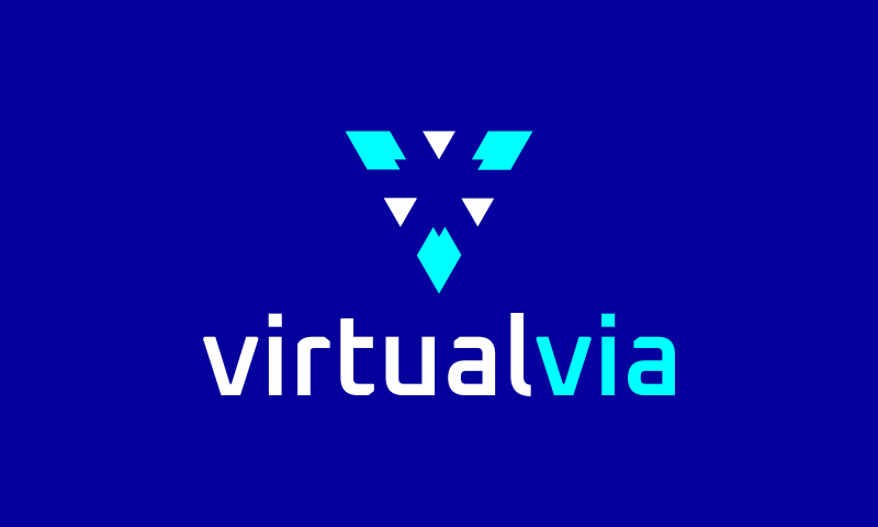 Virtualvia - Business domain name for sale