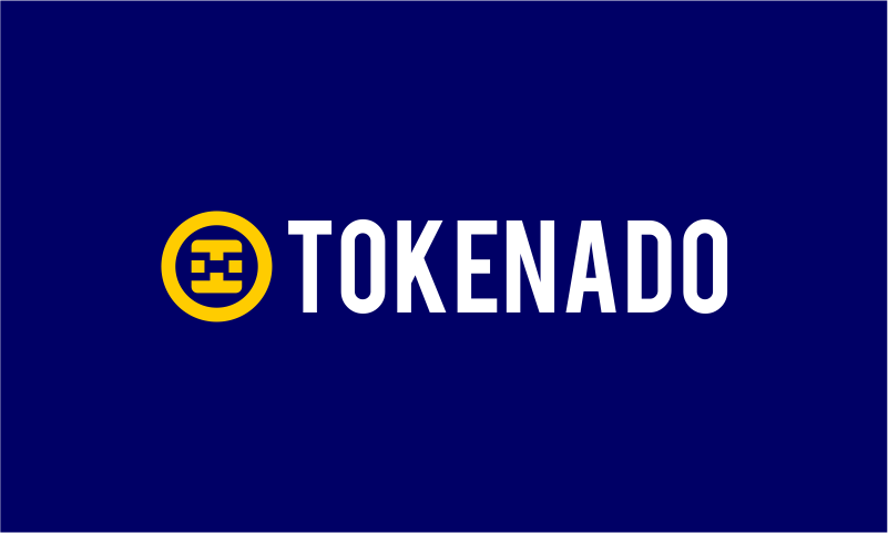 Tokenado - Cryptocurrency business name for sale
