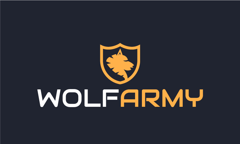 Wolfarmy - Business startup name for sale