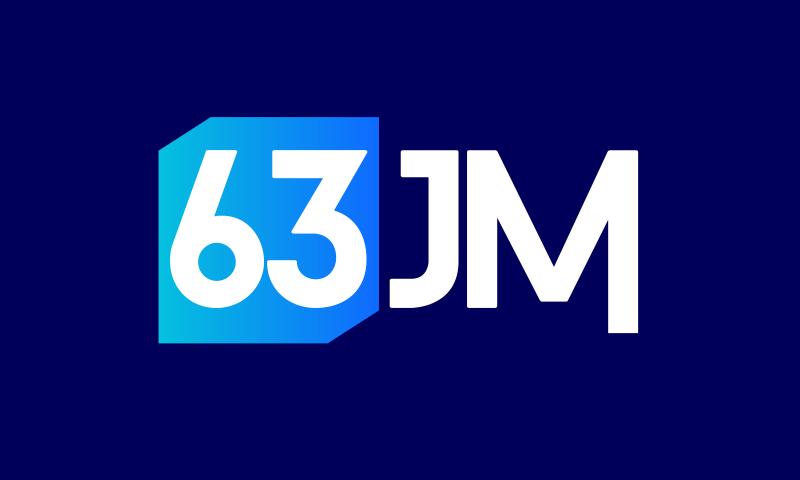 63jm - E-commerce startup name for sale