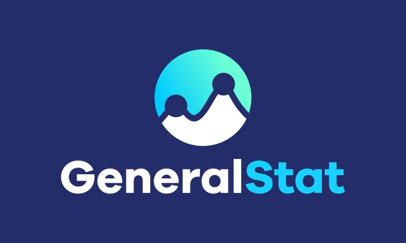 Generalstat - Analytics domain name for sale