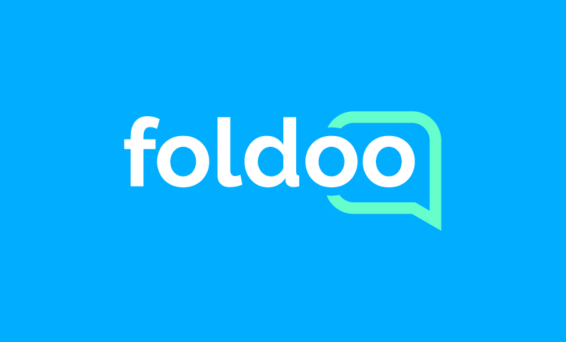 Foldoo - Professional networking domain name for sale
