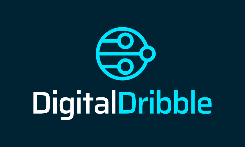 Digitaldribble - Technology business name for sale