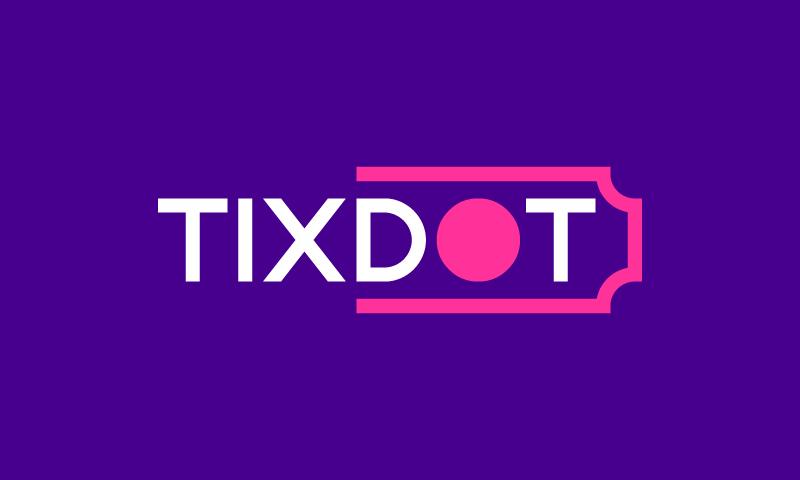 Tixdot - Travel company name for sale
