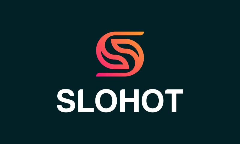 Slohot - Marketing startup name for sale