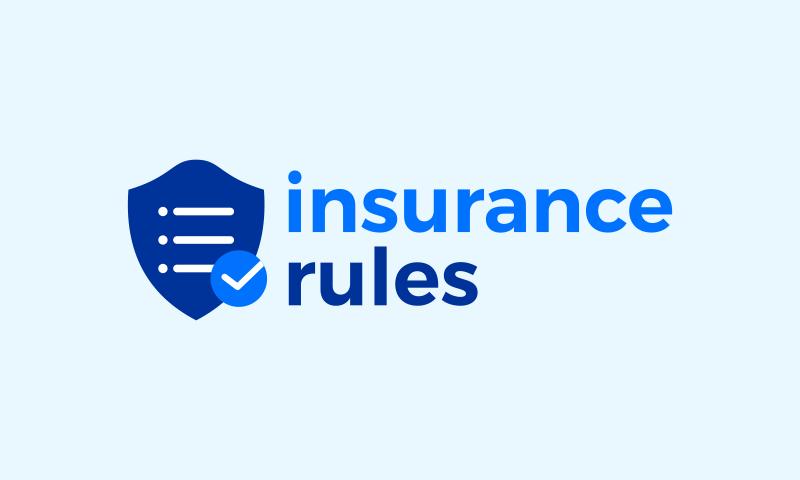 Insurancerules - Legal startup name for sale