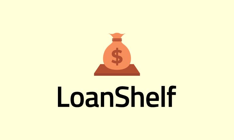 Loanshelf - Fundraising startup name for sale