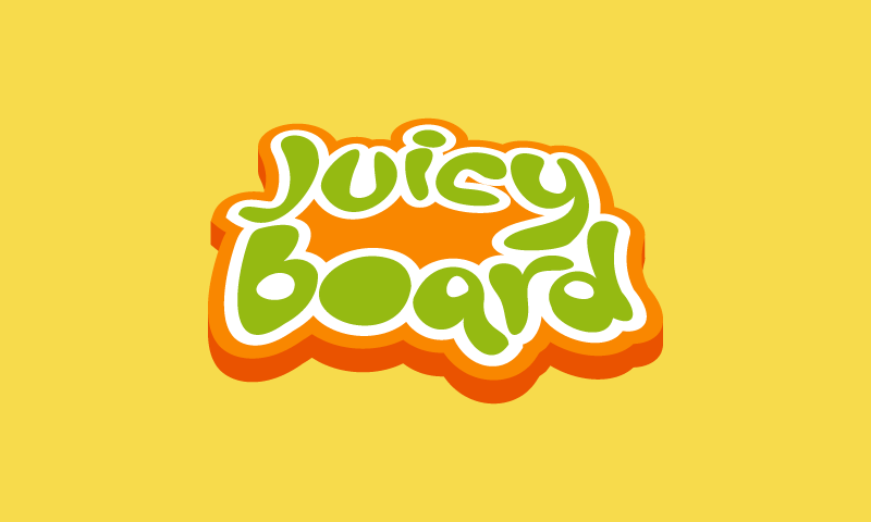 Juicyboard - Food and drink product name for sale