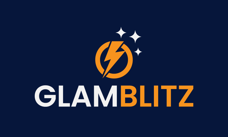Glamblitz - E-commerce company name for sale