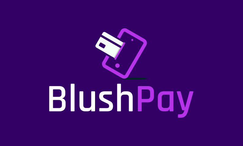 Blushpay - Banking domain name for sale