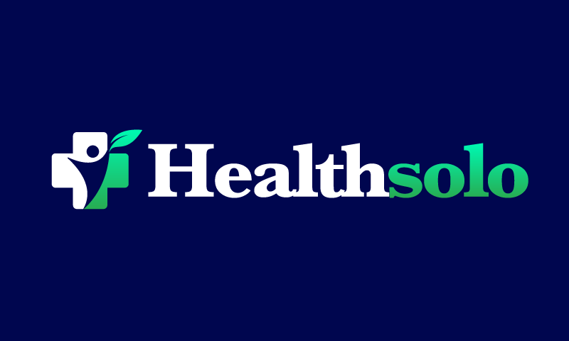 Healthsolo - Wellness business name for sale