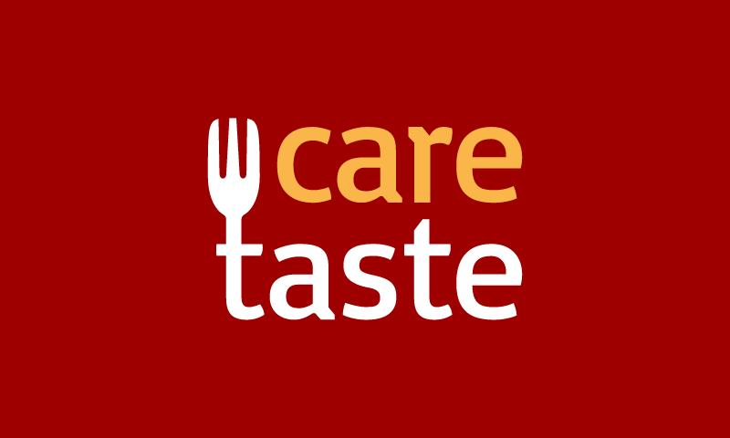 Caretaste - Food and drink startup name for sale