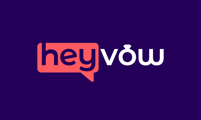 Heyvow - Dating domain name for sale