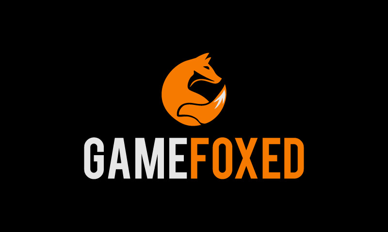 Gamefoxed - Video games company name for sale