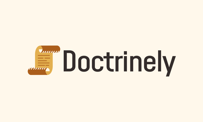 Doctrinely - Business domain name for sale