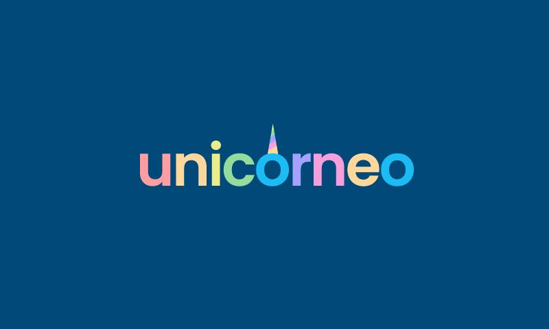 Unicorneo - Finance domain name for sale