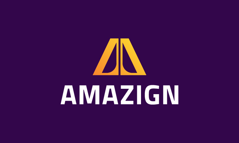 Amazign - Beauty startup name for sale