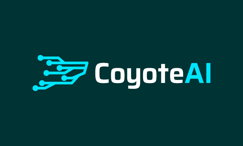 Coyoteai - Artificial Intelligence business name for sale