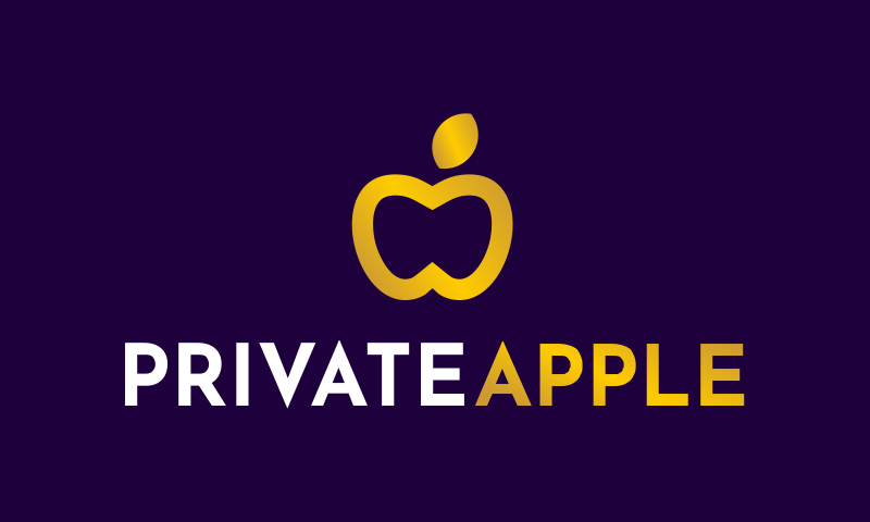 Privateapple - Hospitality startup name for sale