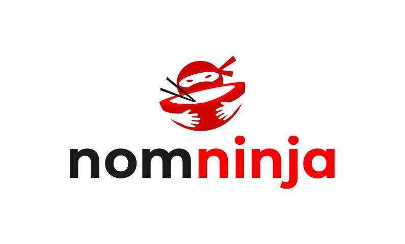 Nomninja - Retail startup name for sale