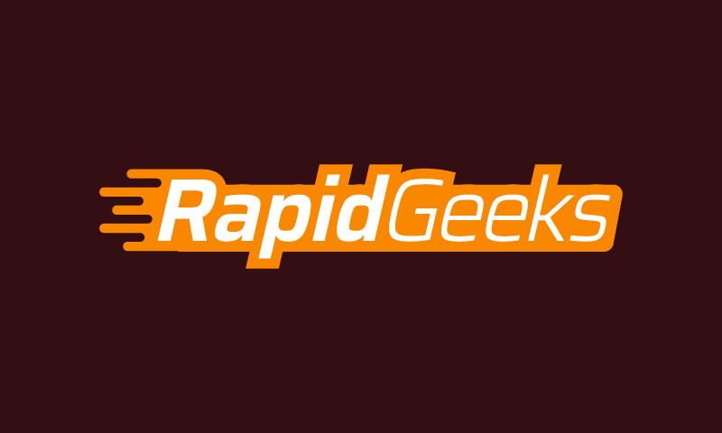 Rapidgeeks - Technology brand name for sale
