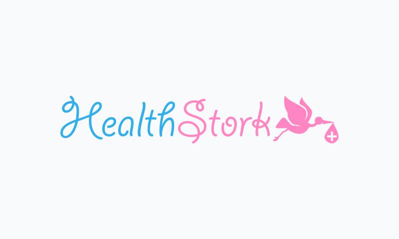 Healthstork - Healthcare startup name for sale