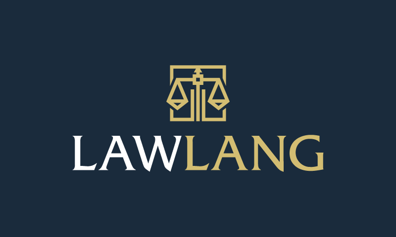 Lawlang - Law company name for sale