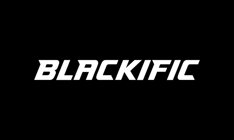 Blackific - Retail brand name for sale