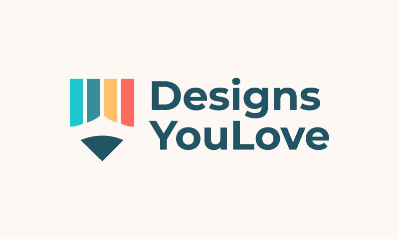 Designsyoulove - Interior design brand name for sale