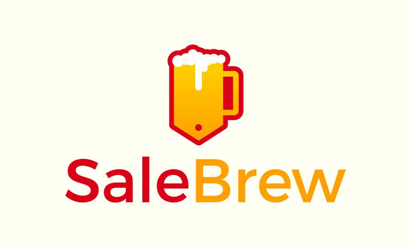 Salebrew - Sales promotion startup name for sale