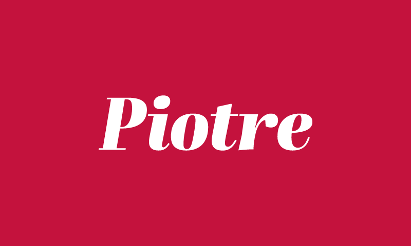 Piotre - Audio domain name for sale