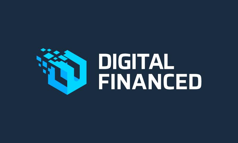 Digitalfinanced - Internet startup name for sale