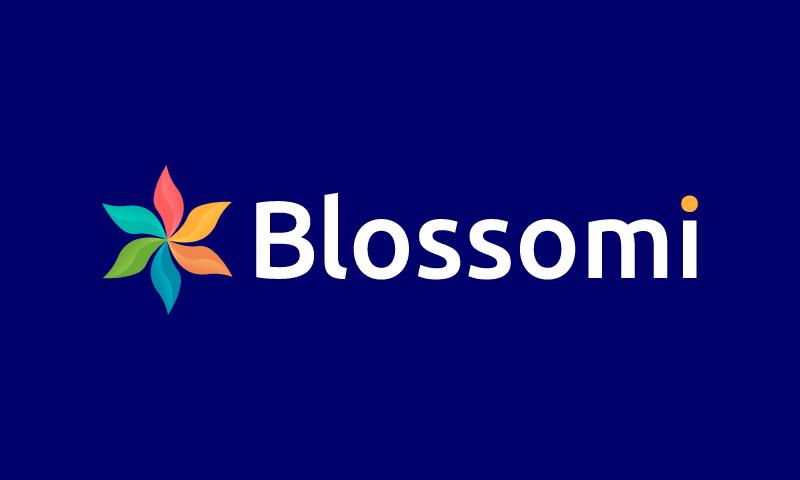 Blossomi - E-commerce startup name for sale