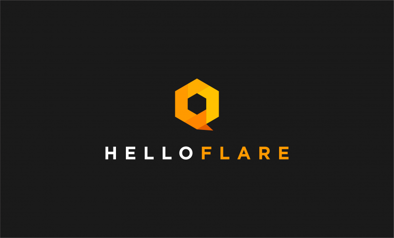 Helloflare - Striking business name