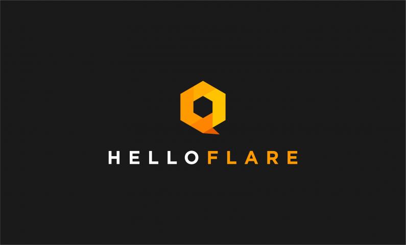 Helloflare - Striking business name